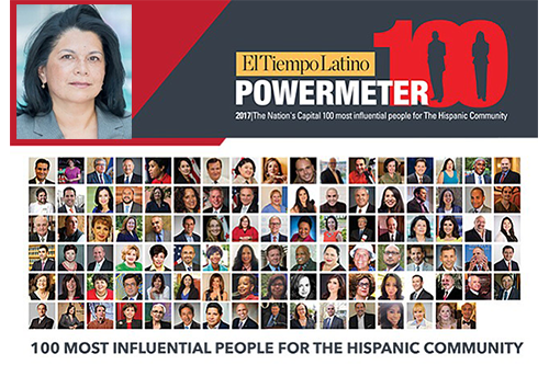 The Powermeter 100 recognizes, motivates and promotes the top 100 people who create opportunities for the Hispanic community.