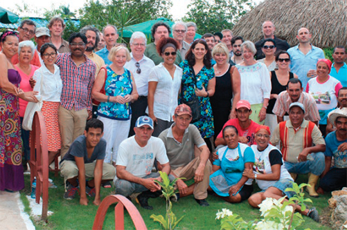Leaders of the co-op sector in the U.S. visit Cuba in July 2016 as part of the U.S. – Cuba Cooperative Working Group.