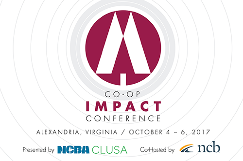 NCBA CLUSA and our co-host National Cooperative Bank look forward to seeing you at IMPACT 2017 next week!